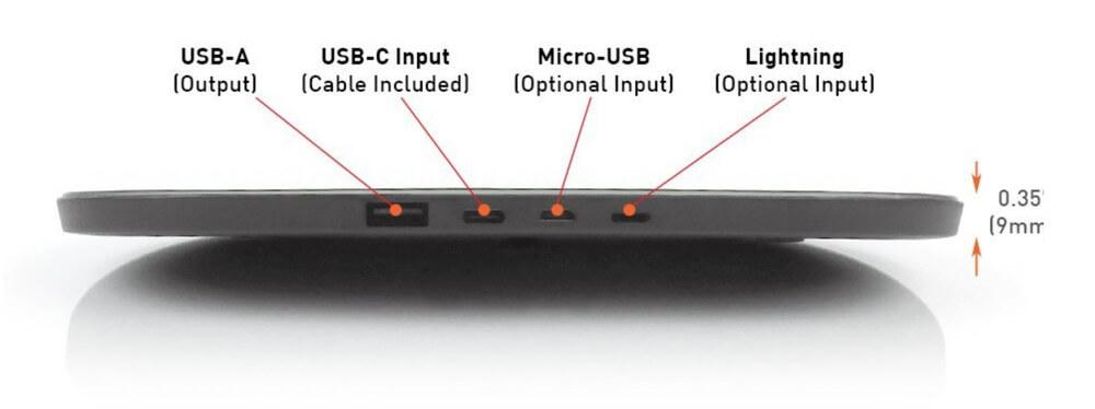 Первая беспроводная Qi-зарядка с поддержкой Lightning