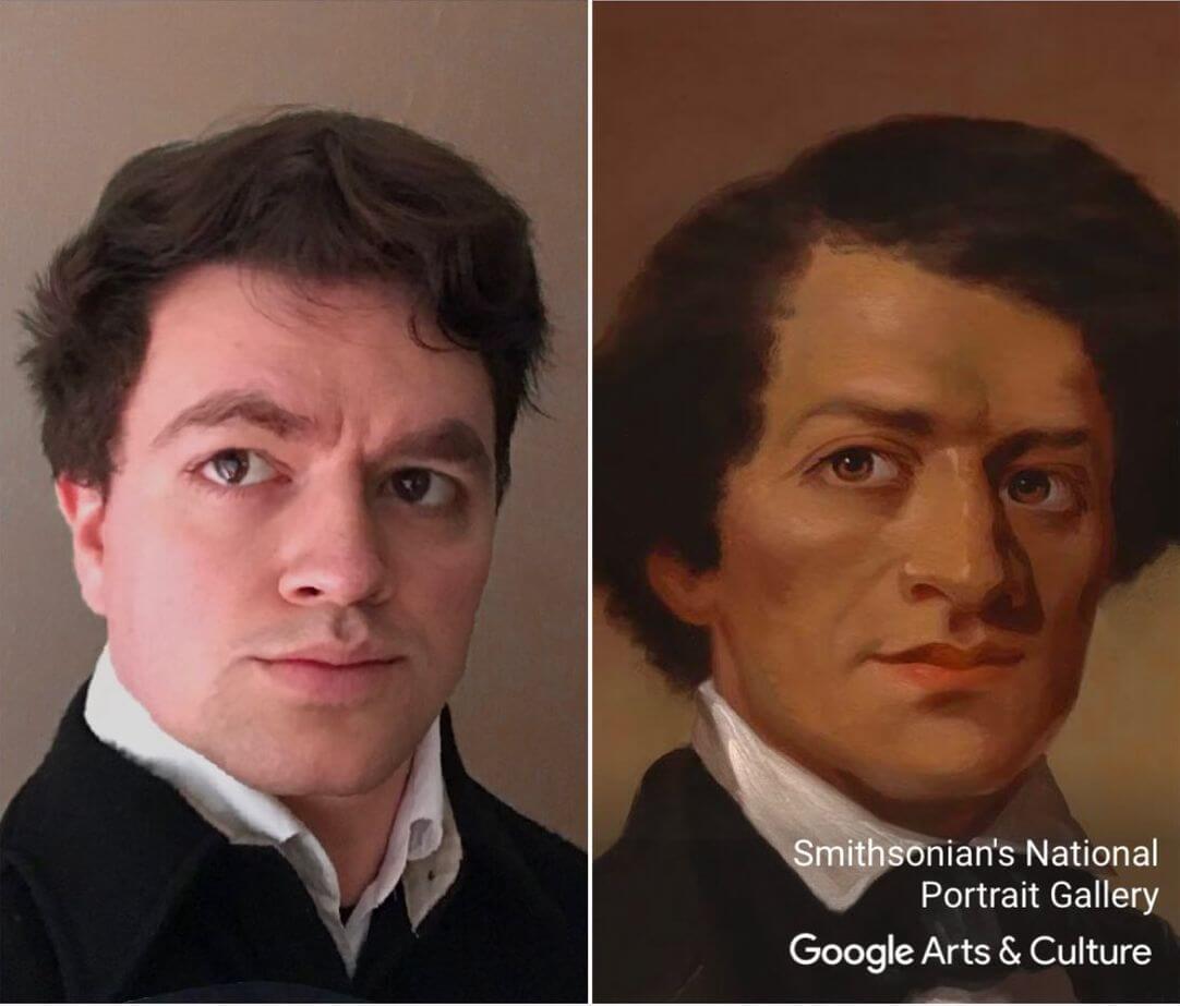 Приложение Google отыщет вашего двойника на полотнах художников