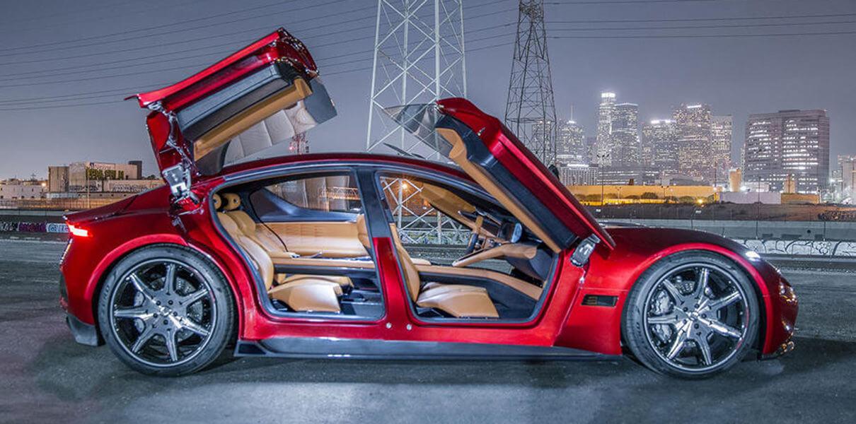 #CES 2018 | Компания Fisker продемонстрировала прототип серийного электромобиля EMotion