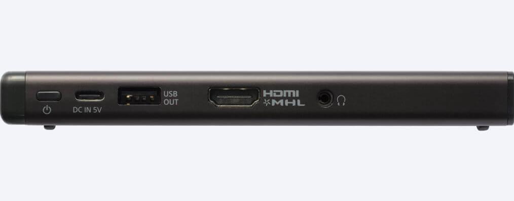 #CES 2018 | Sony представила мобильный проектор размером со смартфон