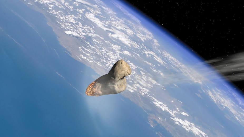большой астероид уничтожил динозавров способен поменьше