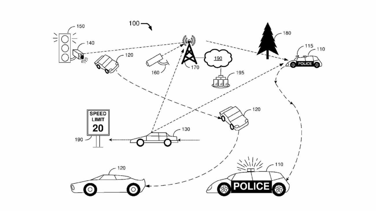 Ford представил концепт беспилотного полицейского автомобиля
