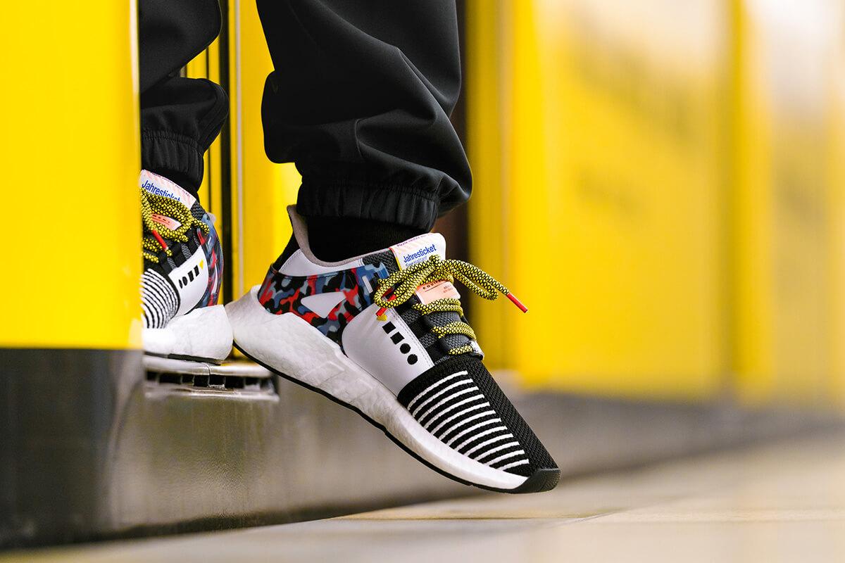 За технологичными кроссовками Adidas выстроились очереди