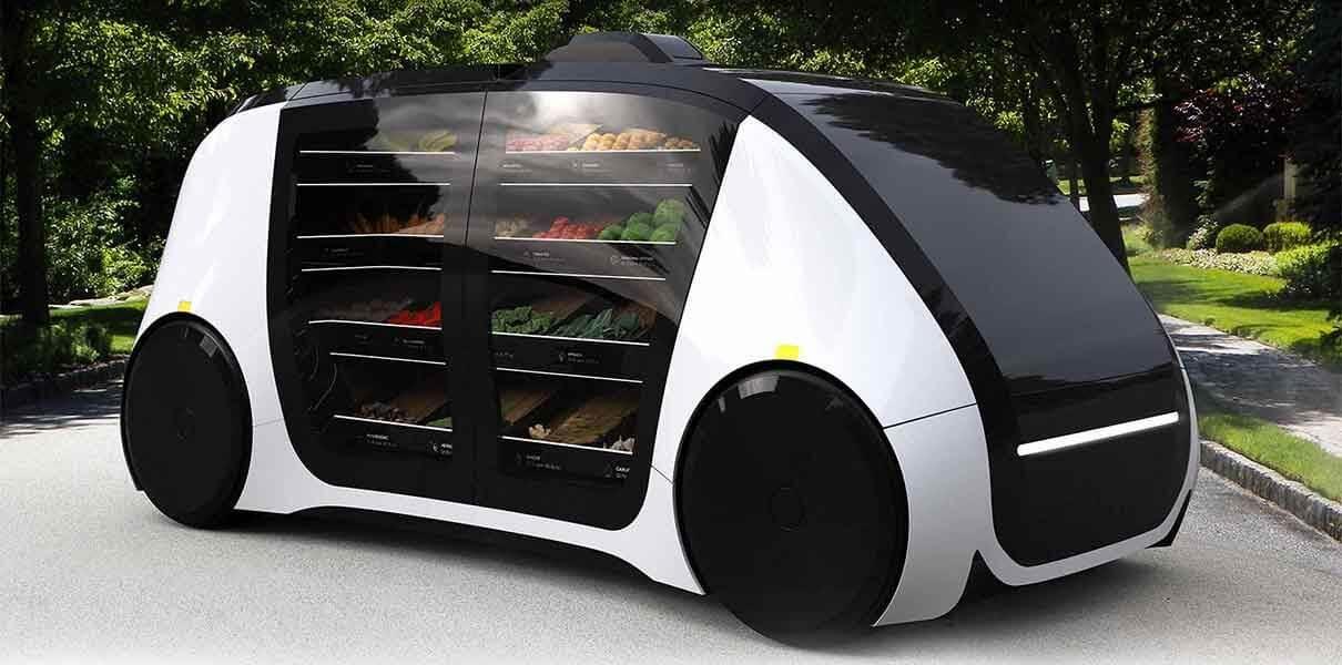 Robomat — беспилотный передвижной магазин на колесах
