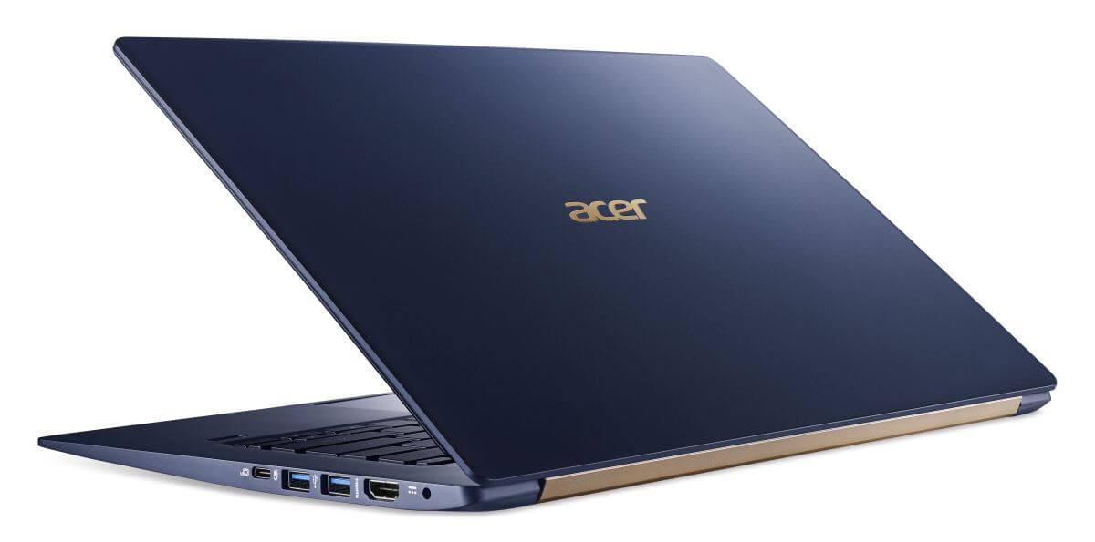 Acer начала продажу «самого легкого ноутбука» Swift 5 в России