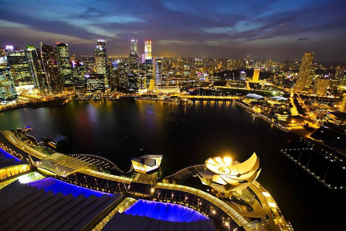 Airbus протестирует доставку посылок дронами в Сингапуре