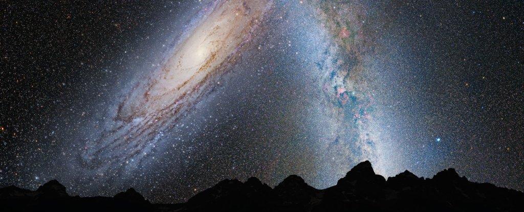 Мы серьезно переоценили размеры галактики Андромеды, говорят ученые