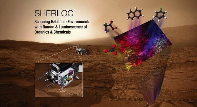 sherloc - Вместе с новым марсоходом в 2020 году на Красную планету полетит ее «отвалившаяся часть»