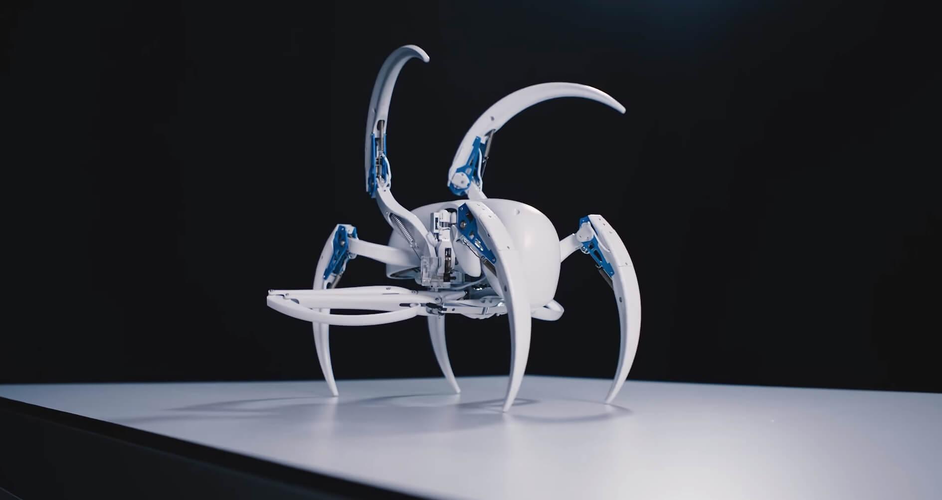 #видео дня | Новый робот-паук от компании Festo
