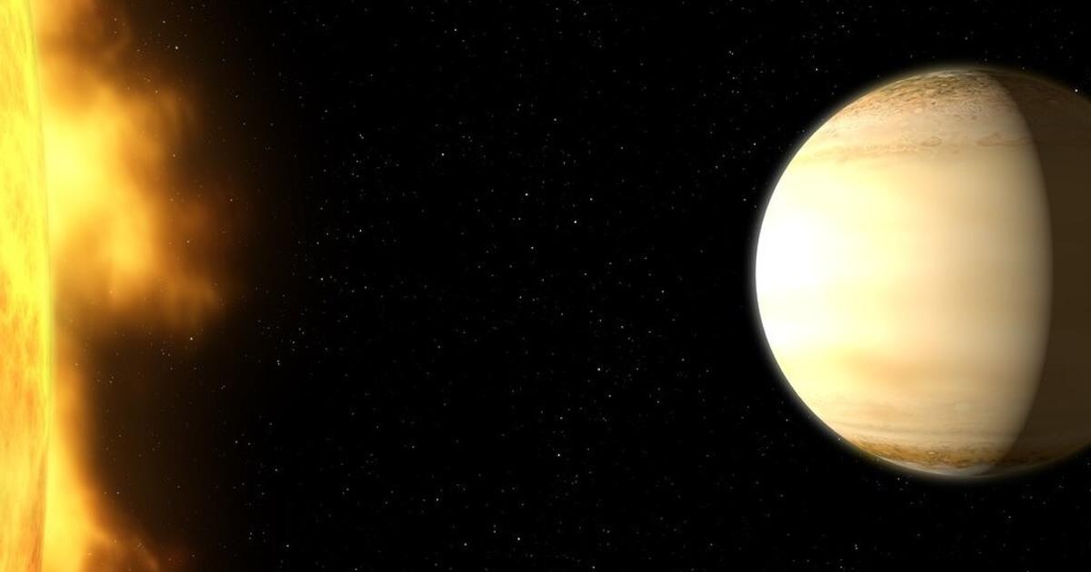Атмосфера обнаруженной планеты-супергиганта очень удивила ученых