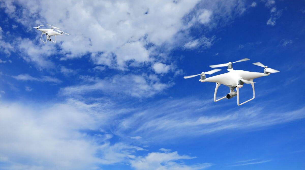 В Пуэрто-Рико начали чинить линии электропередач с помощью дронов