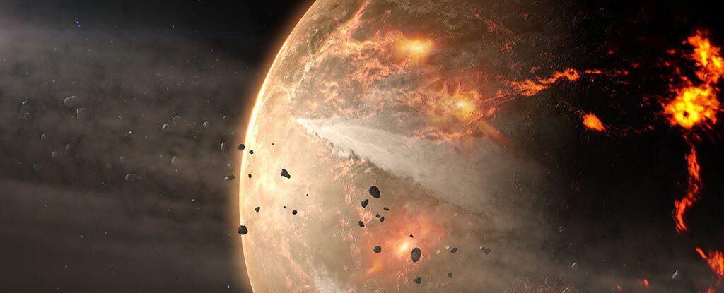 На Землю в 2135 году может упасть астероид. NASA предлагает его взорвать (2 фото)
