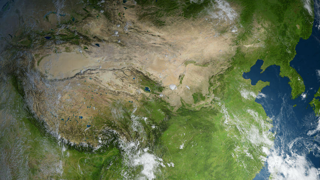 Китай строит «фабрику дождя» размером в три Испании