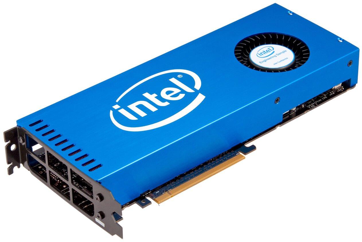 intel graphics - Forbes: Intel хочет выйти на рынок игровых видеокарт и потеснить NVIDIA и AMD