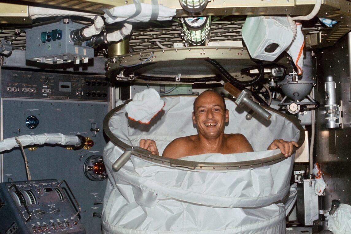 В России ведется разработка сауны и стиральной машинки для космонавтов