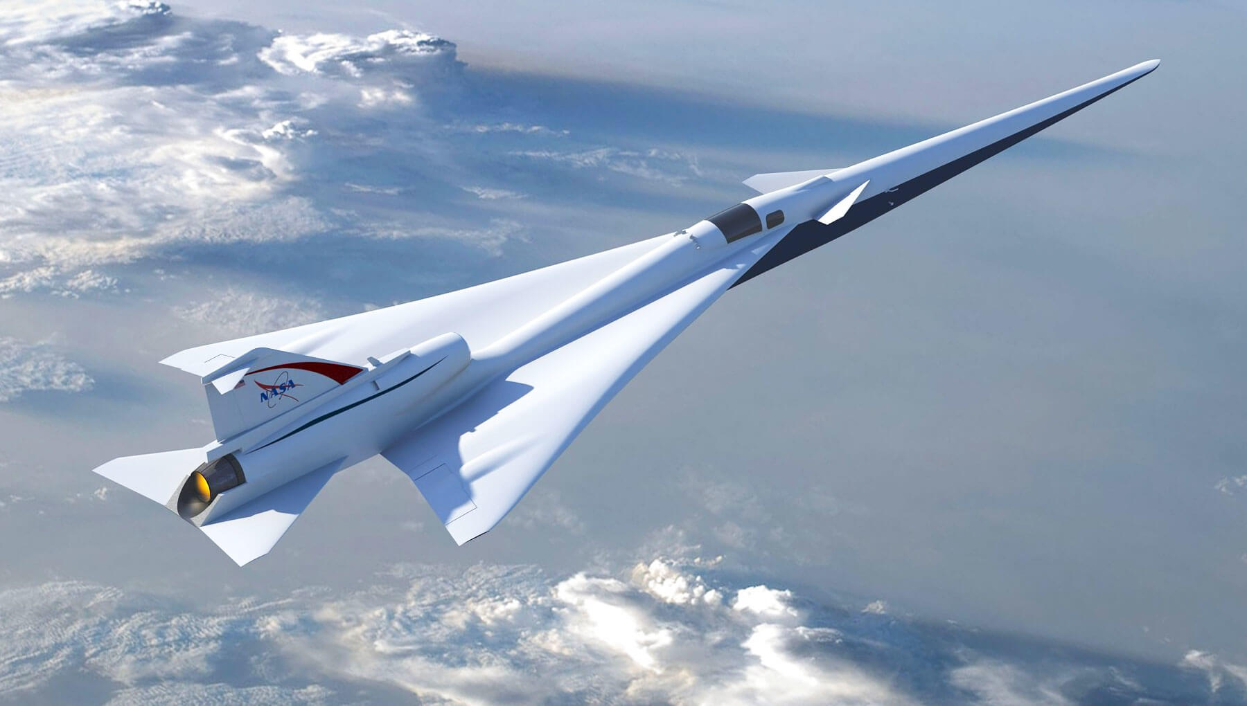 NASA наняло Lockheed Martin для создания тихого сверхзвукового самолета