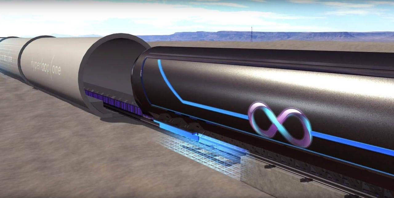 Как работает вакуумный поезд