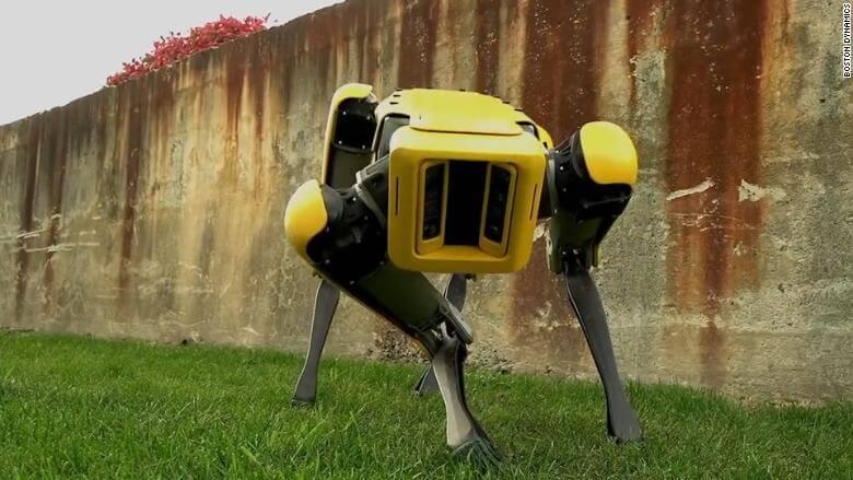 Boston Dynamics начнет реализацию роботов-собак в 2019г.
