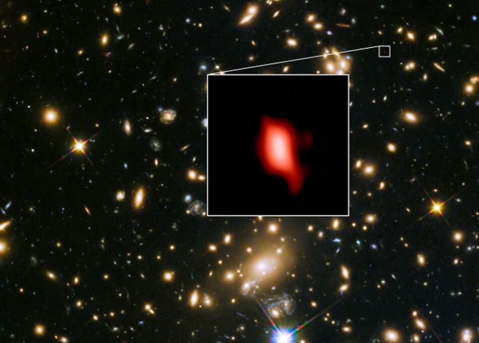 В космосе обнаружен кислород возрастом почти 13,3 миллиарда лет