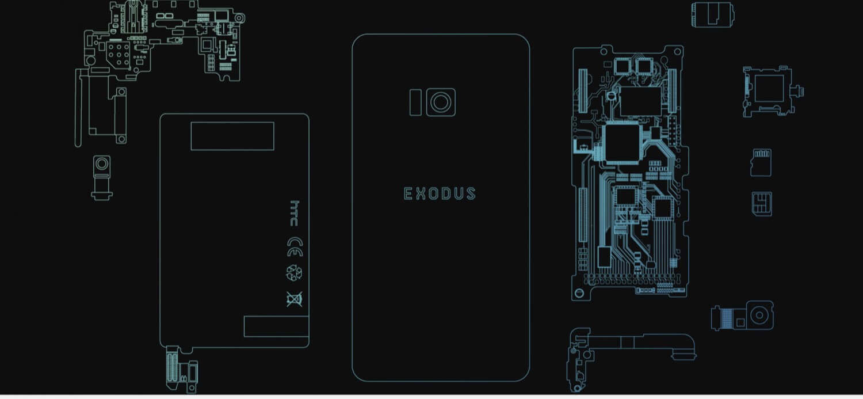 HTC Exodus – первый блокчейн-смартфон для светлого будущего