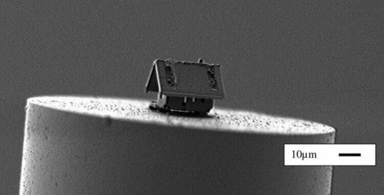 Французские инженеры построили самый маленький в мире дом