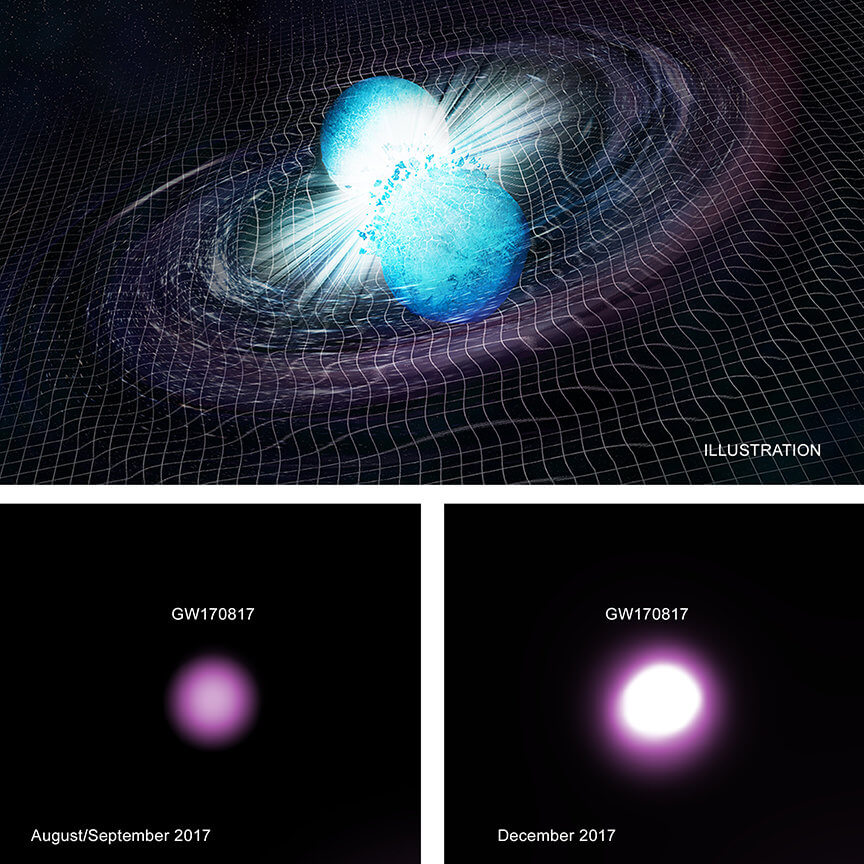 Возможно, ученые зафиксировали рождение самой маленькой черной дыры