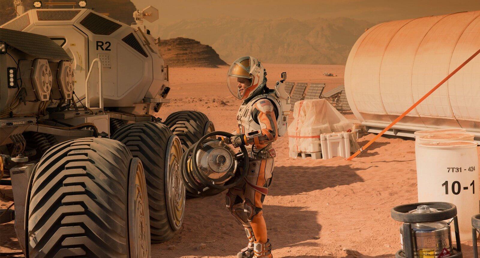 Дышать на Марсе нам помогут цианобактерии