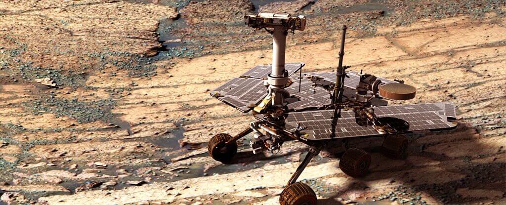 На Марсе бушует пылевая буря. Жизнь одного из марсоходов NASA под угрозой