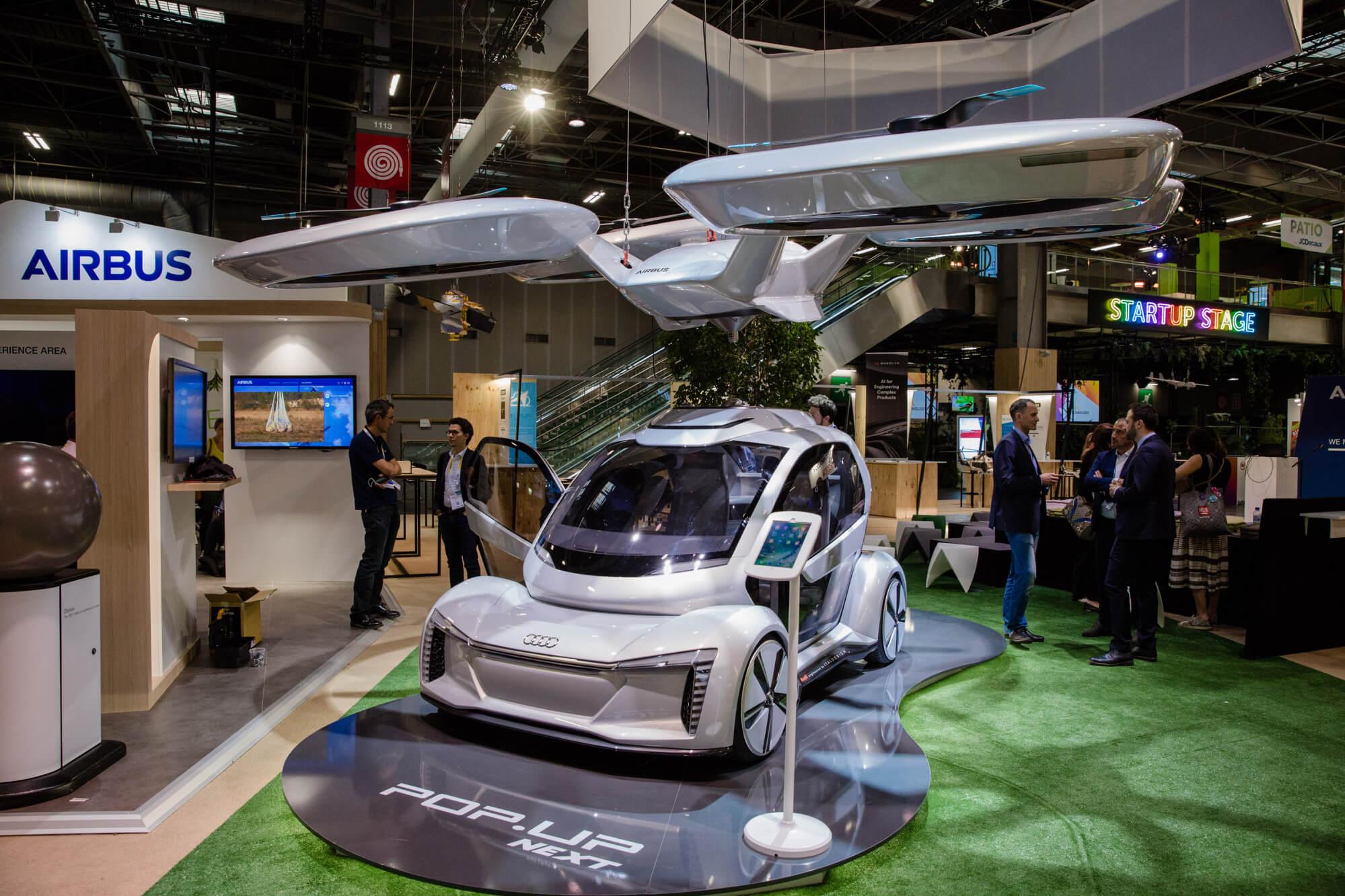 В Германии проведут испытания летающего такси
