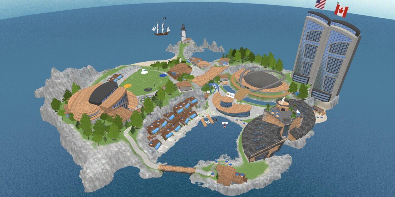 8000 сотрудников eXp работают на виртуальном острове из компьютерной игры
