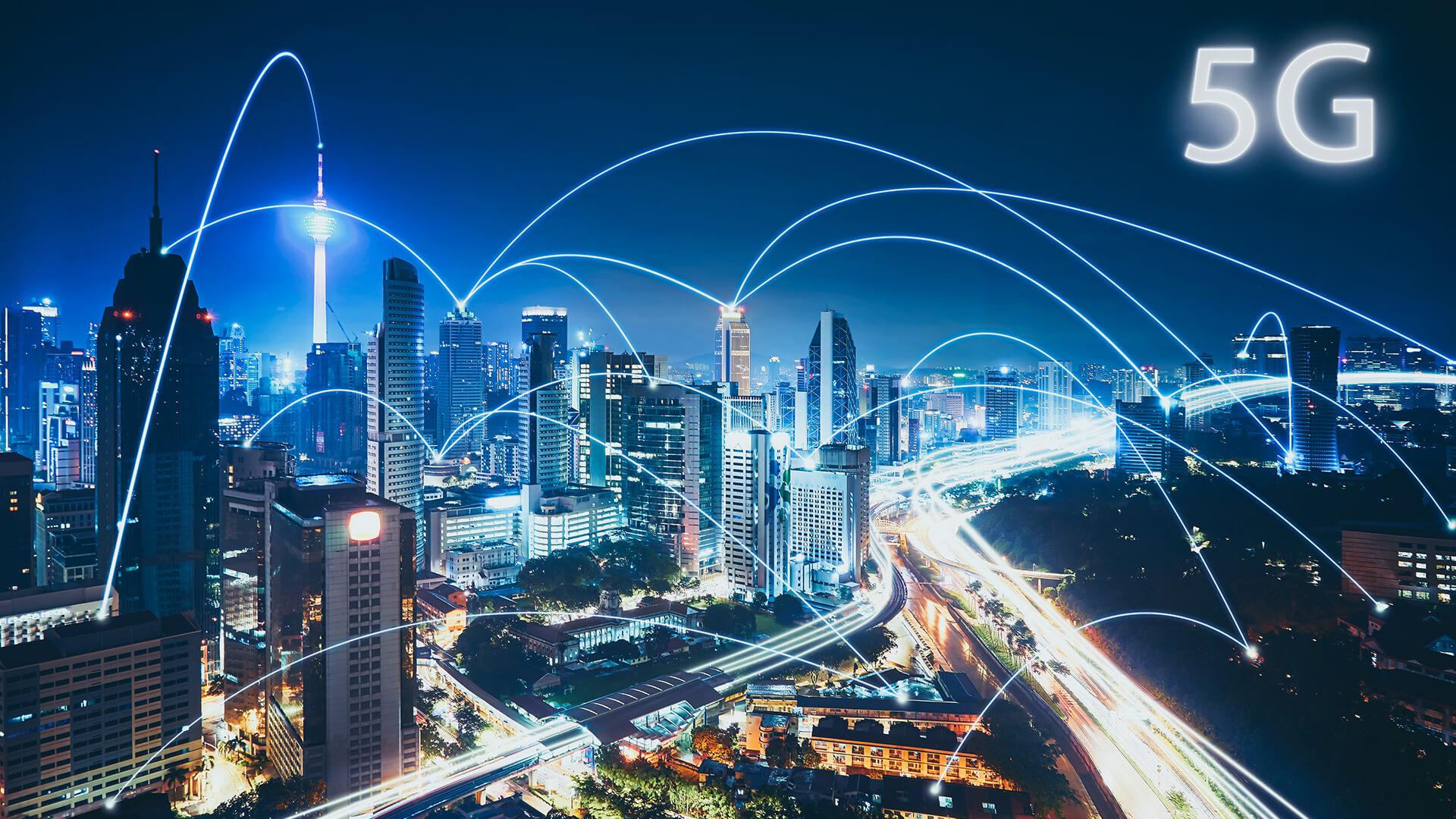 Первые реальные скорости 5G