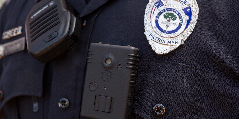 Нательные камеры полиции могут использоваться хакерами и преступниками