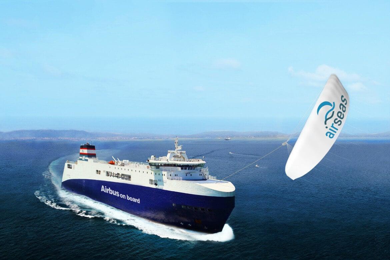умные паруса airbus помогут загрязнять океан