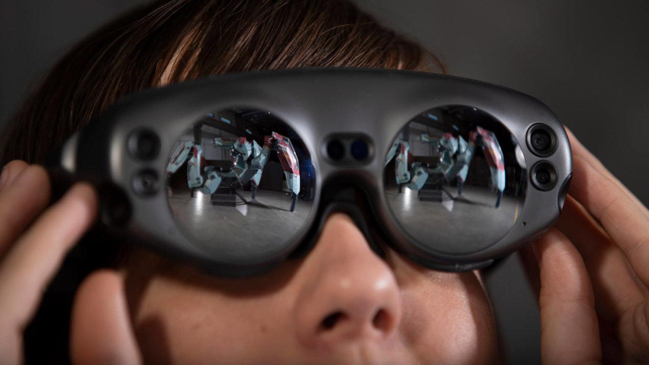 Magic Leap показала виртуального ИИ-ассистента в дополненной реальности