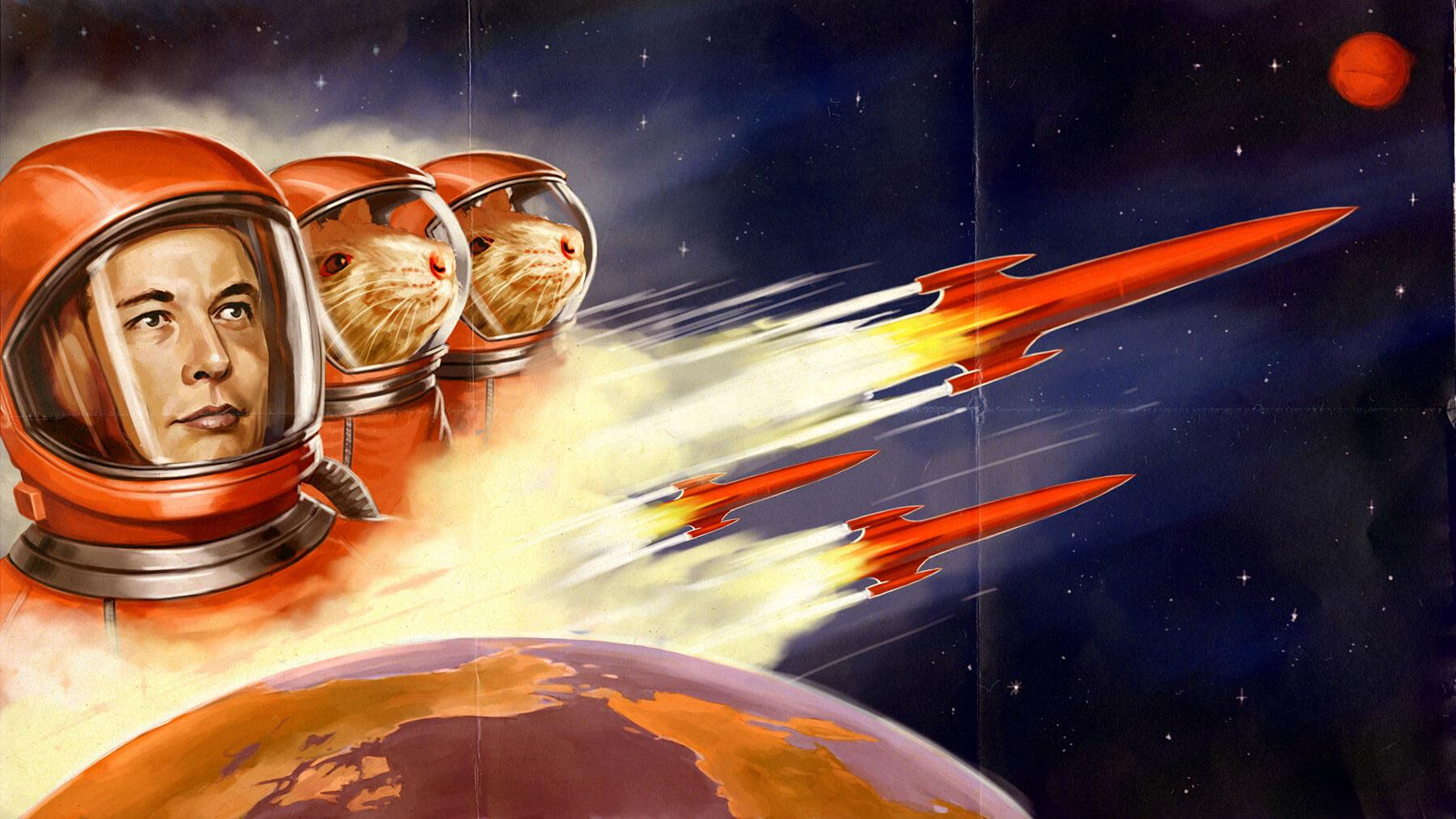 Илон Маск переедет на Марс. И, возможно, умрет