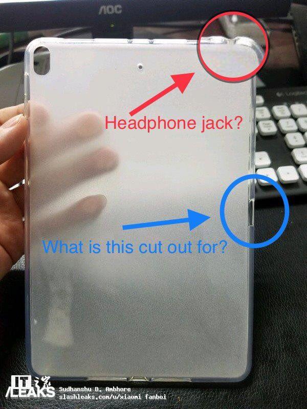 Каким будет корпус iPad 5 mini
