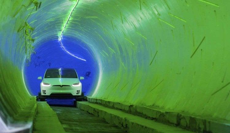 Тоннель The Boring Company