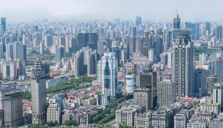 195-гигапиксельная панорама Шанхая