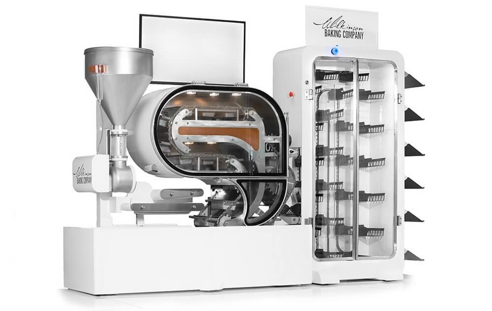 #CES | На выставке электроники показали уникальную роботизированную пекарню