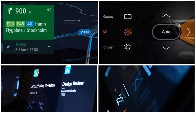 Система Android в автомобиле Polestar 2