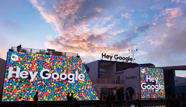 Google на CES 2019