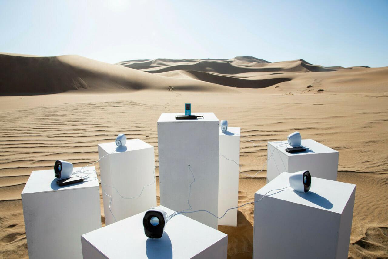 В африканской пустыне включили песню, которая будет «играть вечно»