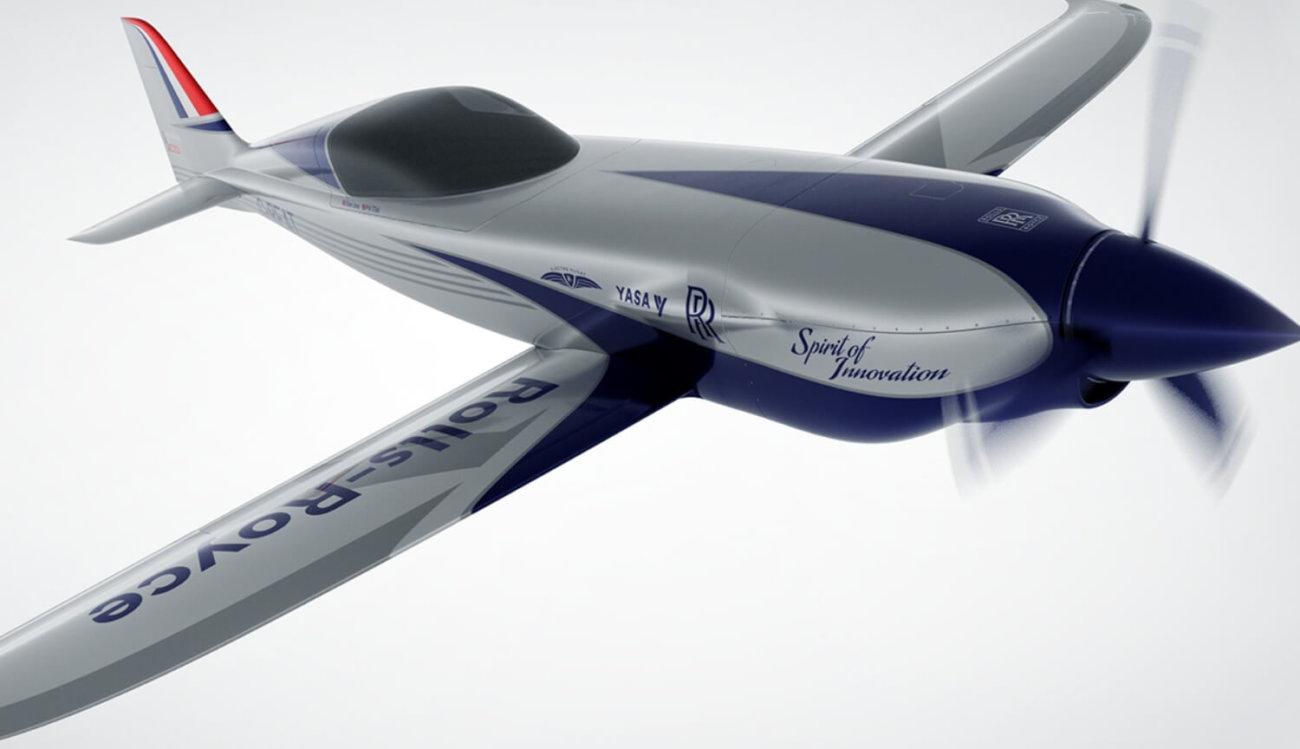 Самолет Rolls-Royce ACCEL