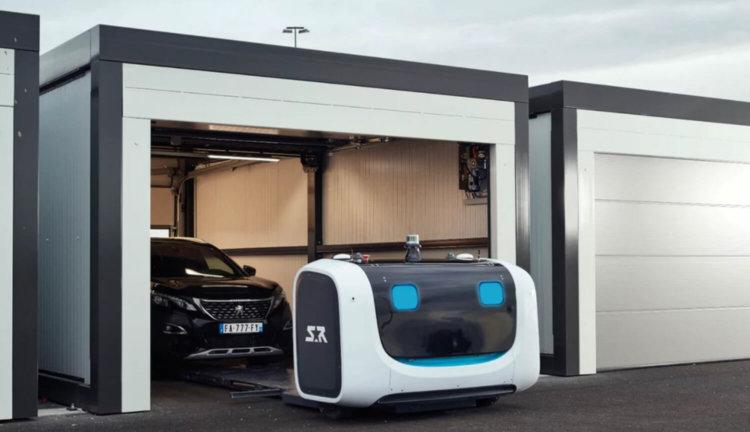 Робот Stan для парковки автомобилей