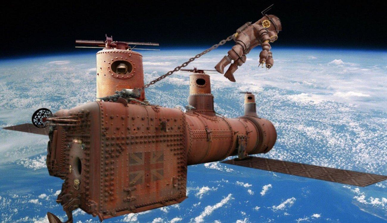 Стимпанк космос