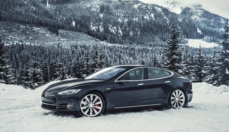 #видео | Как работает автопилот Tesla в снежную погоду?