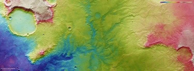#фото | Новые спутниковые снимки древних марсианских рек