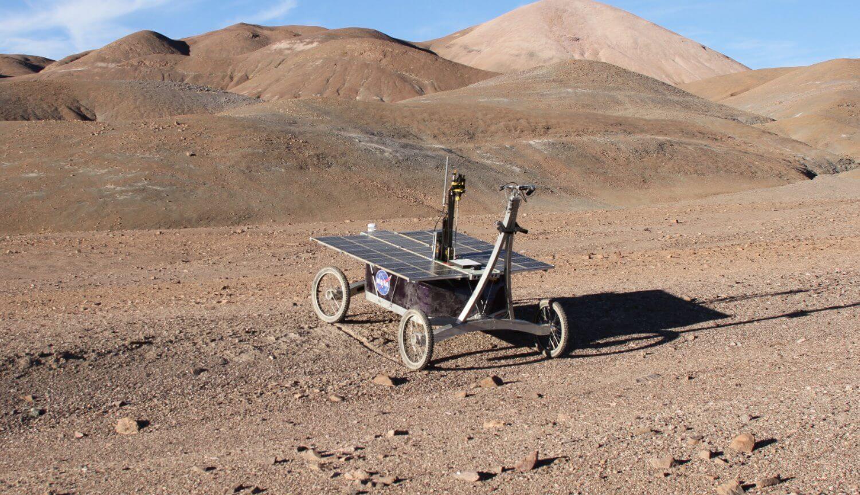 Марсоход в пустыне Атакама