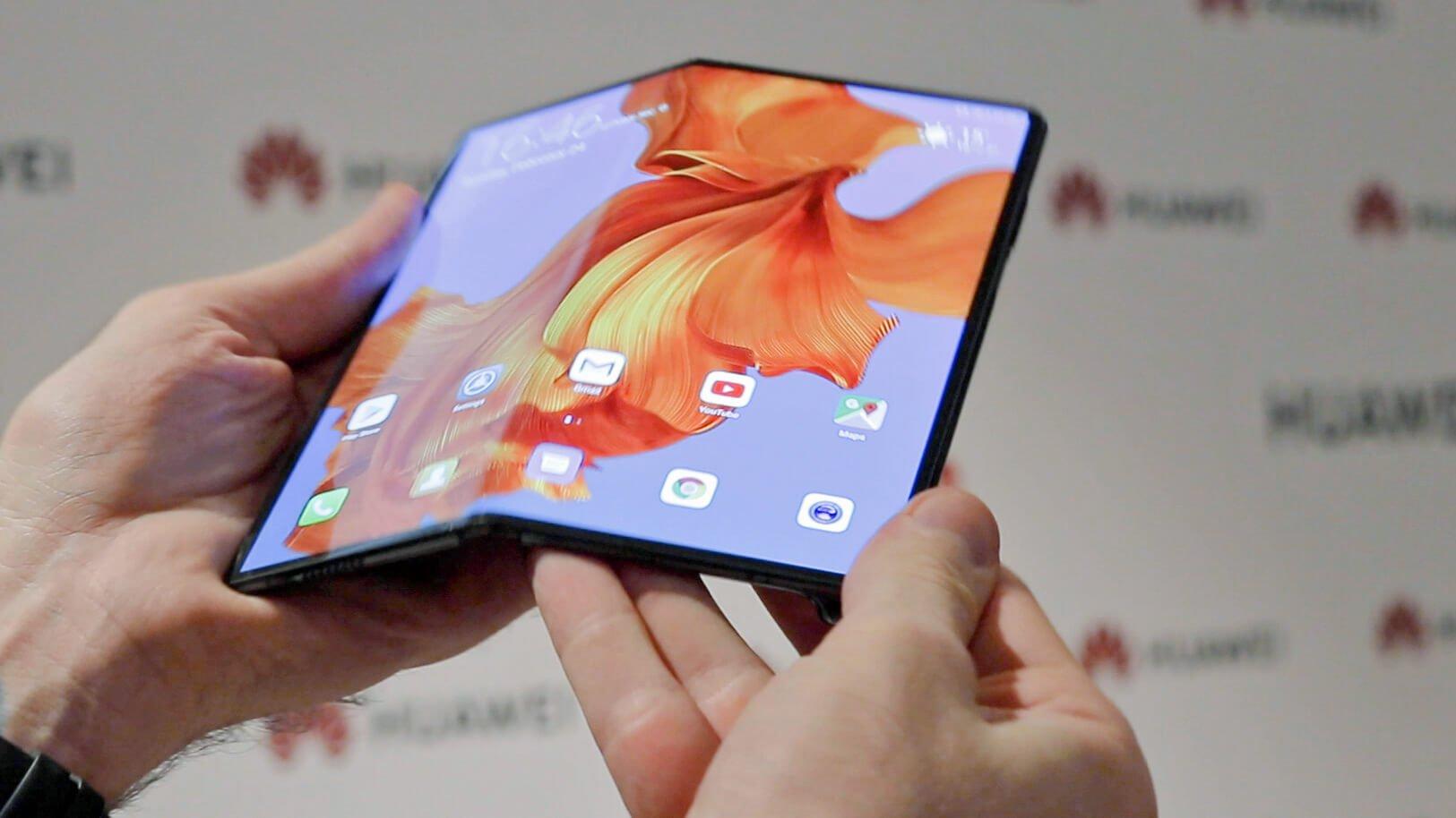 Складной смартфон Mate X от Huawei: более тонкий конкурент Galaxy Fold