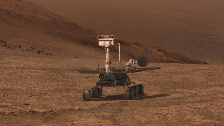 Что станет с погибшим марсоходом «Оппортьюнити» через миллионы лет?